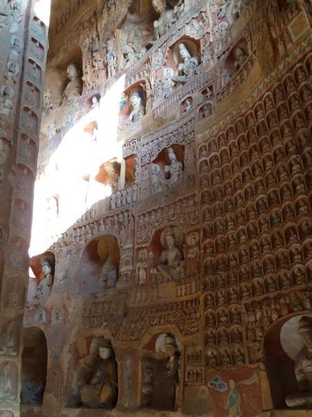 Yungang Grotten in datong