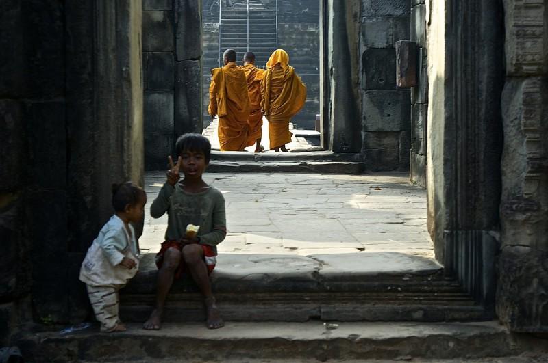 reizen door Cambodja