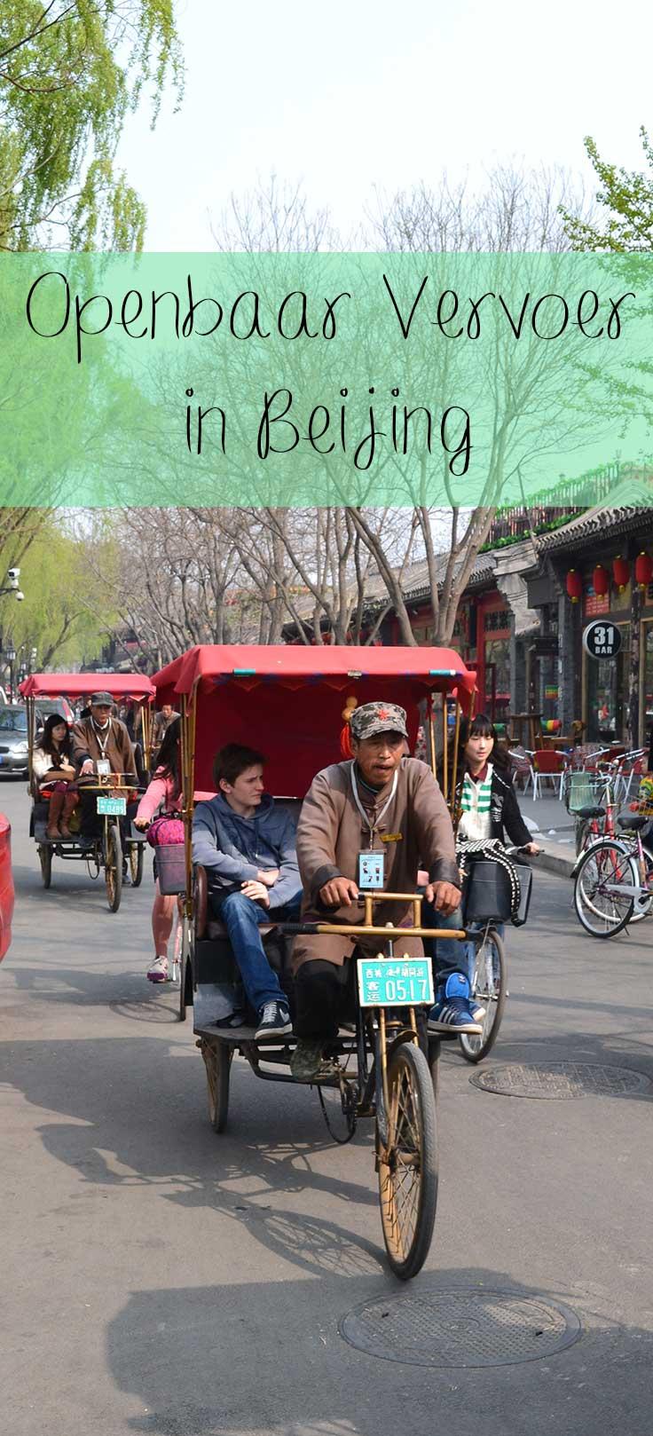 openbaar vervoer in Beijing