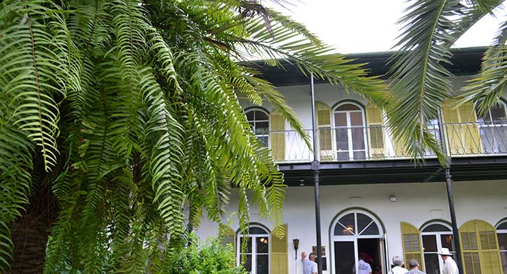 Hemingway Huis in Key West