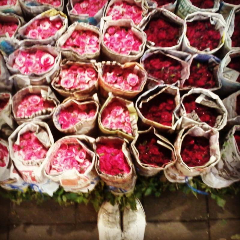 bloemen in bangkok