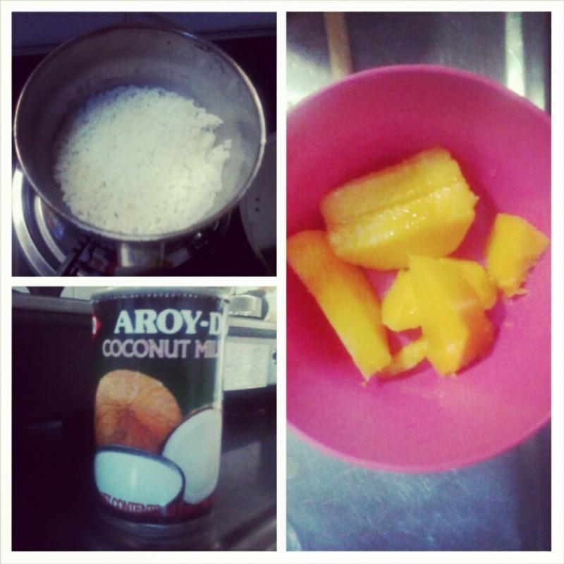 mango sticky rice zelf maken