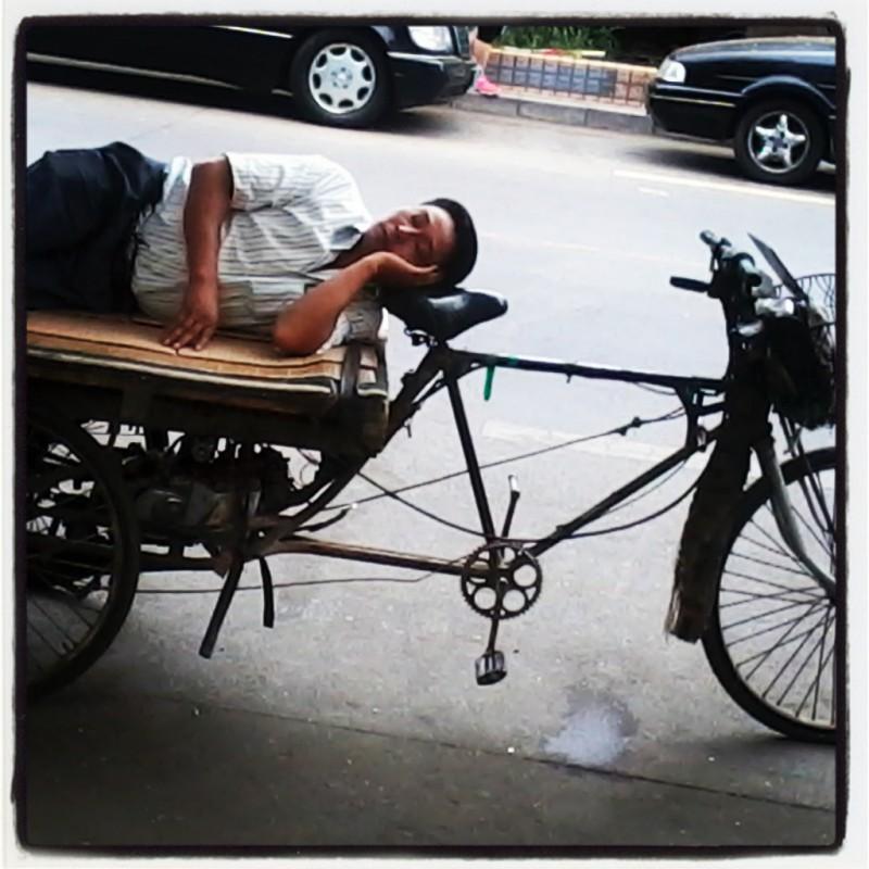 slapen in china