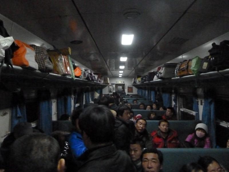 trein in china