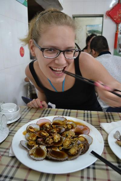 zeevruchten eten in qingdao