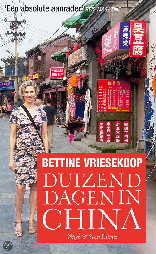 duizend dagen in china bettine vriesekoop