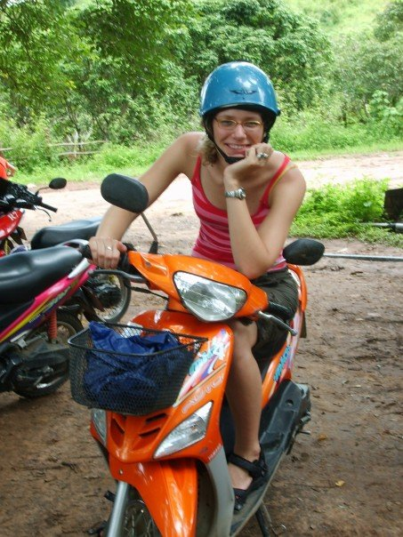 scooter rijden pai