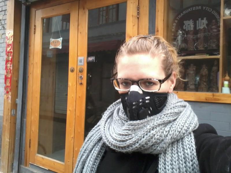 de smog in beijing