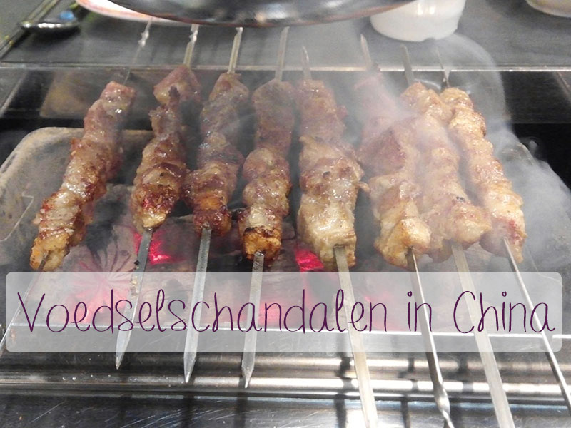 voedelsschandalen in china