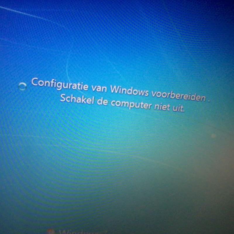 windows configuratie