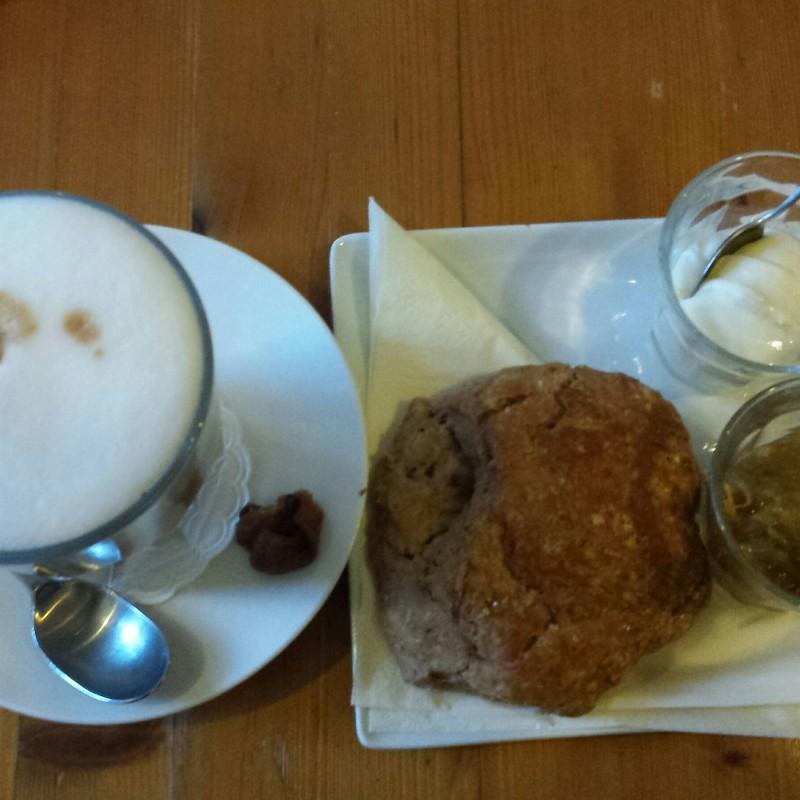 Koffie & scone
