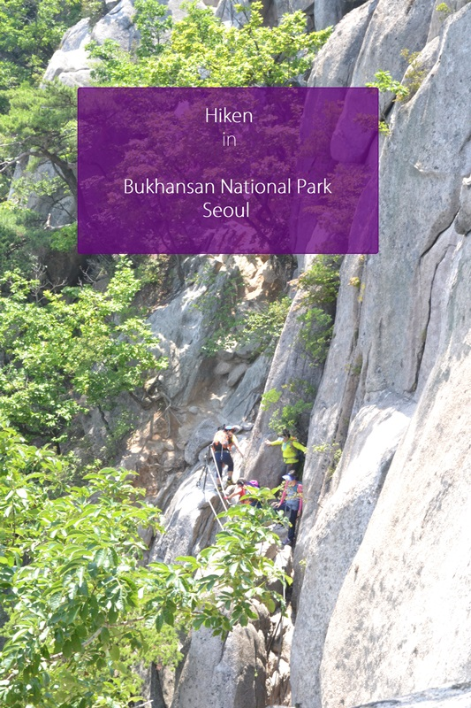hike naar bukhansan national park