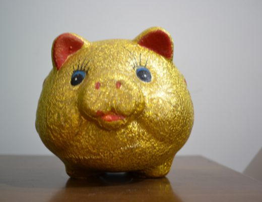 gouden spaarvarken
