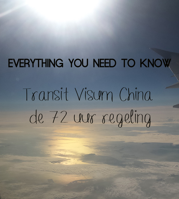 transit visum china