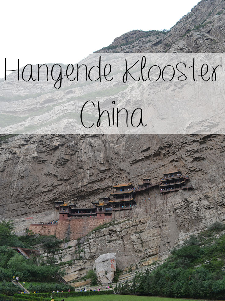 hangende klooster in China