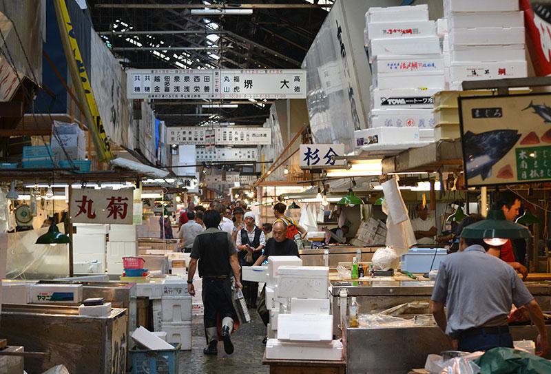 Tsukiji Markt