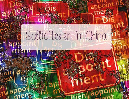 solliciteren in China