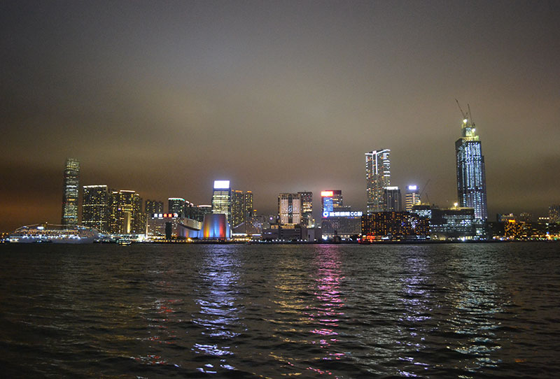 foto's hong kong skyline
