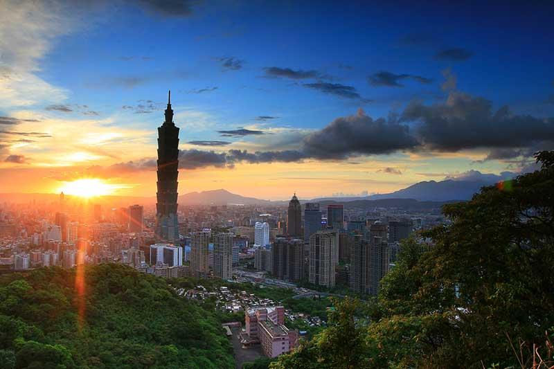 reis naar Taiwan