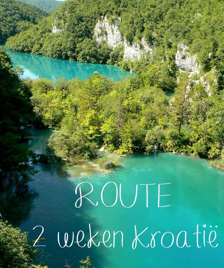 route 2 weken kroatie