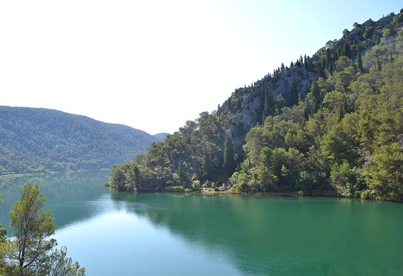 nationaal park krka watervallen kroatie