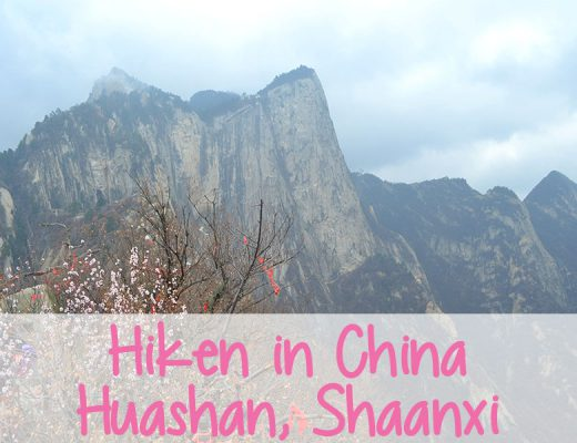 bergen in China huashan beklimmen