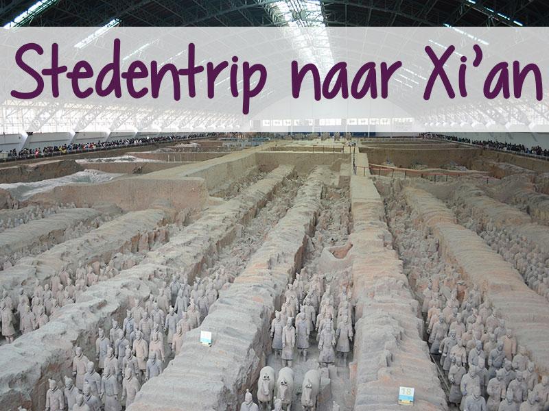 stedentrip naar xi'an