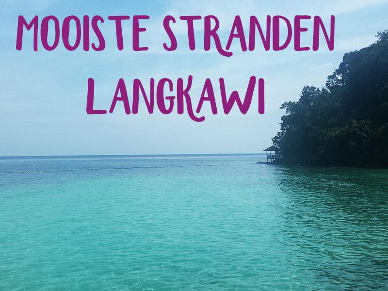 stranden op langkawi
