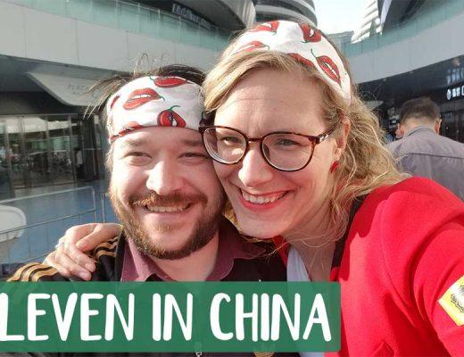 Leven in China sake festival