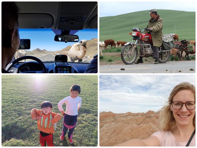 reis door Xinjiang