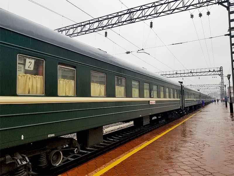 voorbereidingen voor Trans Mongolie Express