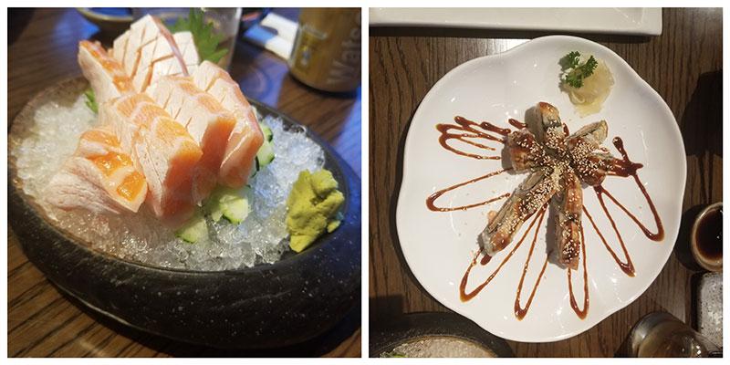 sushi eten in Beijing
