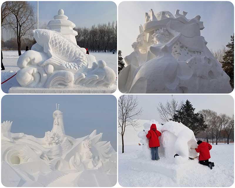 harbin sneeuwsculpturen