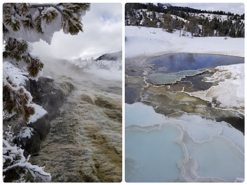 Yellowstone in winter bezoeken