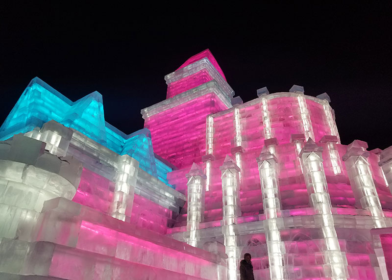 harbin ijsfestival china