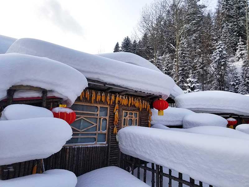 wintervakantie in china