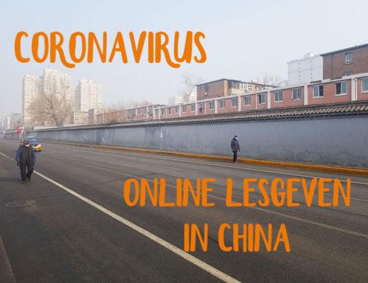 online lesgeven coronavirus
