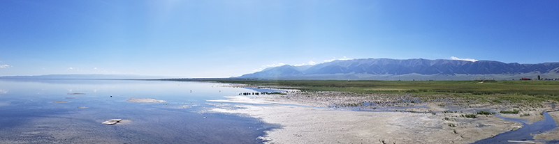 barkol meer in xinjiang