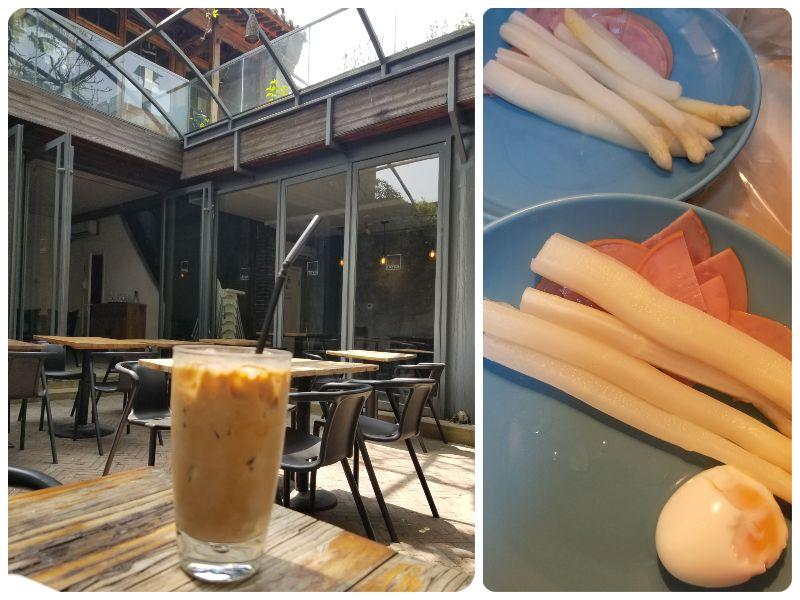 cafeetjes in Beijing